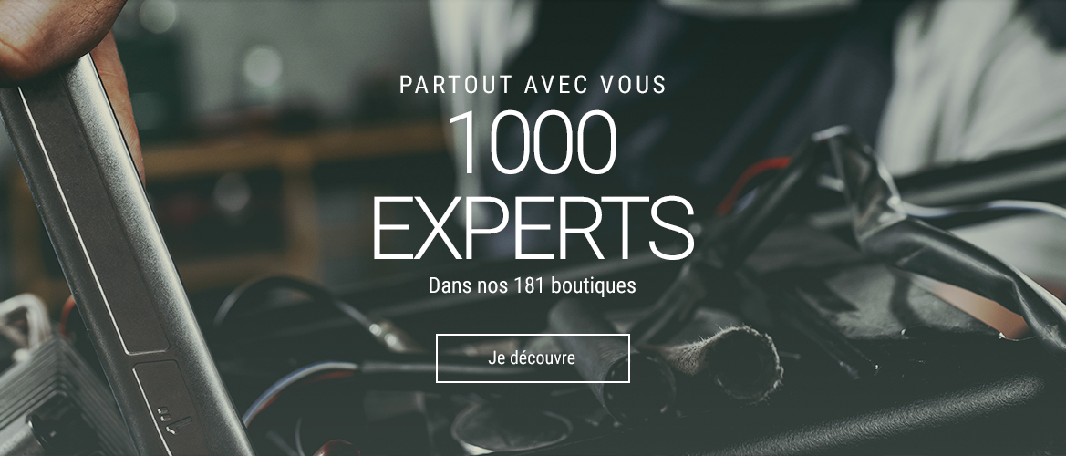 1000 experts magasin